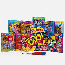 Disney Junior Sing-Along Music Player and 8-Book Library