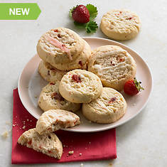 Cake Batter & Drizzled Cookies - Strawberry