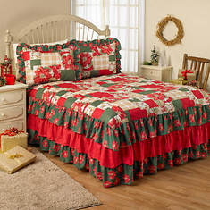 Holiday Patch Bedspread