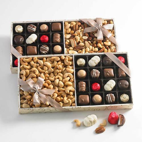 Royal Chocolate & Nut Assortment