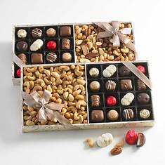 Royal Chocolate & Nut Assortment - Cashews