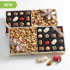 Royal Chocolate & Nut Assortment - Mixed Nuts