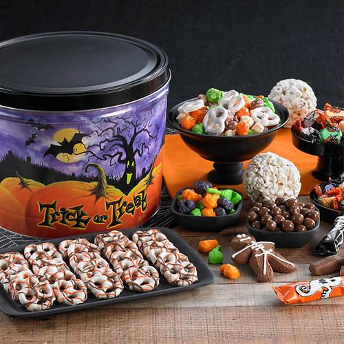 Halloween Goodie Tin