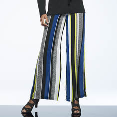 Multi-Colored Stripe Stretch Pant