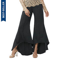 High-Low Ruffled Pants