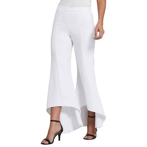 High-Low Ruffled Pants