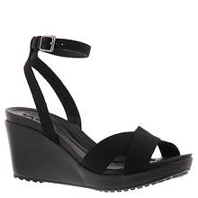 Crocs™ Leigh II Ankle Strap Wedge (Women's)