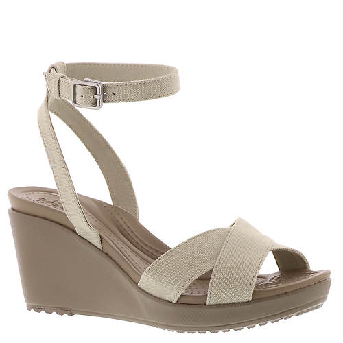 293e793c0bb2a1 Crocs™ Leigh II Ankle Strap Wedge (Women s) - Color Out of Stock ...