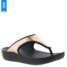 Crocs™ Sloane Hammered Metallic Flip (Women's)