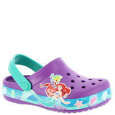 Crocs™ Crocband Princess Ariel Clog (Girls' Infant-Toddler-Youth)