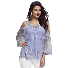 Mesh & Lace Top