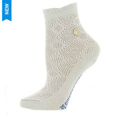 Birkenstock Women's Cotton Bling Ajour Crew Socks