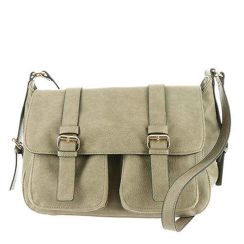 Double-Pocket Messenger Bag