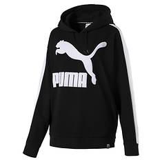 PUMA Women's Classics Logo T7 Hoodie