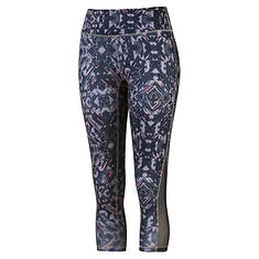 PUMA Women's All Eyes On Me 3/4 Mesh Leggings