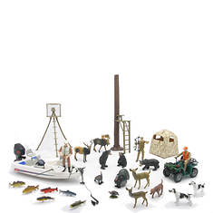 New-Ray-Deluxe Hunting Playset