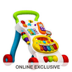 Winfun-Grow-with-Me Musical Walker