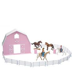 New-Ray - Barn Horse Set