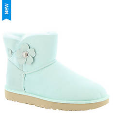UGG® Mini Bailey Button Poppy (Women's)