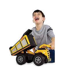 Kid Galaxy Free-Wheeling Mega Dump Truck