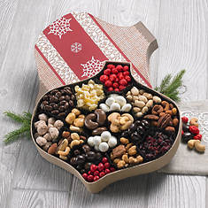 Chocolate & Snack Christmas Boxes- Snacks & Nuts