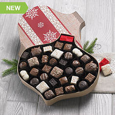 Chocolate & Snack Christmas Boxes- Chocolate