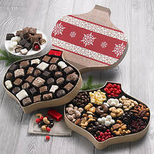 Chocolate & Snack Christmas Boxes- Both Chocolate and Snacks & Nuts