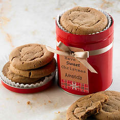 Personalized Just For You Soft Cookies - Ginger