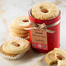 Personalized Just For You Soft Cookies - Gourmet Almond