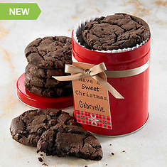 Personalized Just For You Soft Cookies - Double Chocolate