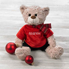 Personalized Christmas Bears - Boy