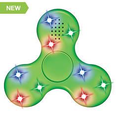 World Tech-Bluetooth Speaker LED Fidget Spinner
