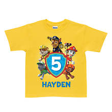 Personalized Paw Patrol Paw-some Birthday Tee