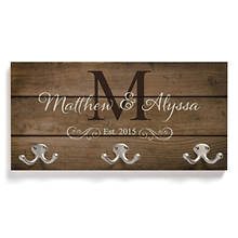 Personalized Happy Couple Coat Hanger