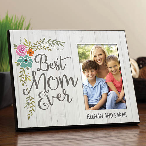 Personalized Best Mom Ever Frame