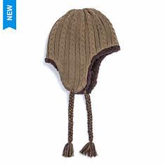MUK LUKS Men's Ivy League Cable Helmet