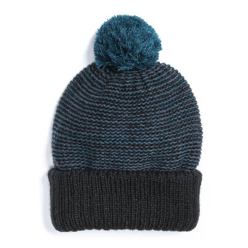 MUK LUKS Men's Mountaineer Marled Pom Hat