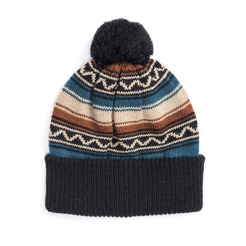 MUK LUKS Men's Ivy League Checker Pom Hat
