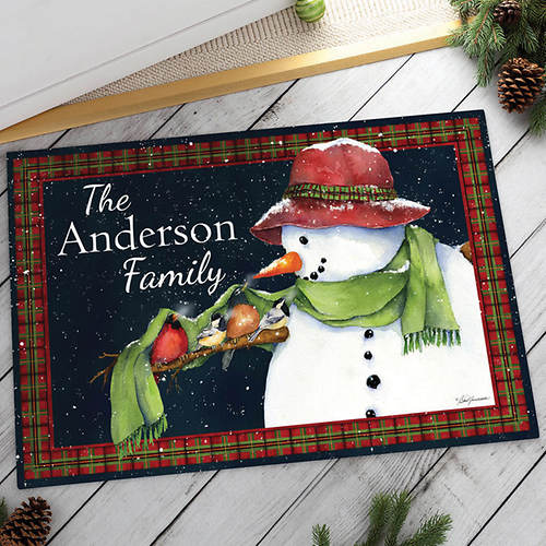 Personalized True Friendship Doormat