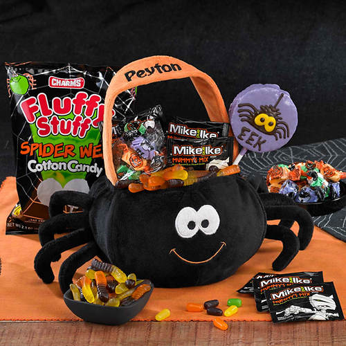Personalized Super-Soft Spider & Candy