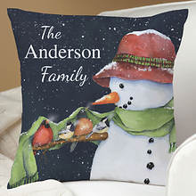 Personalized True Friendship Throw Pillow