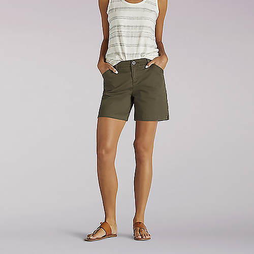 Lee Women's Tailored Chino Shorts