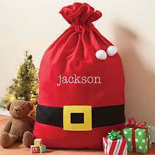 Personalized Santa's Sack