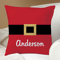 Personalized Santa's Belt Pillow