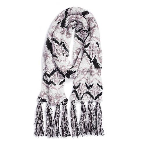 MUK LUKS Women's Winter Solstice Tribal Scarf