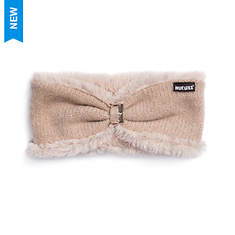 MUK LUKS Women's Rose Gold Lurex Headband