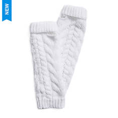 MUK LUKS Women's Winter Solstice Cable Arm Warmers