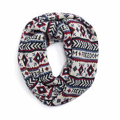 MUK LUKS Women's Freedom Eternity Scarf