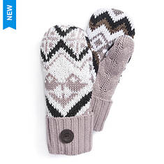 MUK LUKS Women's Winter Solstice Potholder Mittens