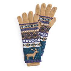 MUK LUKS Women's Fairisle Fantasy Multi 3-in-1 Gloves